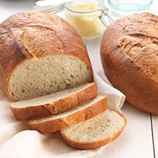 Rustic Sourdough Bread: This chewy loaf, with its deep-brown crust, has rich, deep, flavor, and very mild tang. King Arthur Flour