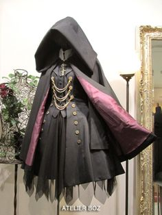 ex kabibble - atelierbozuberalles: .- ish kabibble — atelierbozuberalles: … ex kabibble – atelierbozuberalles: … - Gothic Lolita Fashion, Steampunk Fashion, Gothic Lolita Dress, Lolita Style, Gothic Steampunk, Steampunk Clothing, Victorian Gothic, Dress Outfits, Cool Outfits