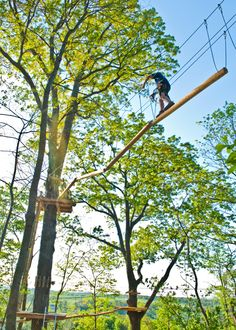 Aerial Adventure Park at Harpers Ferry