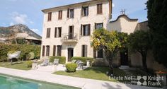 Beautiful Stone Bastide with Chapel and Views in Vence