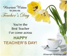 Dear Ilham, Wish You a Very Happy Teachers Day! Teachers Day Card Message, Happy Teachers Day Wishes, Wishes For Teacher, Teachers Day Greetings, Best Teacher, Appreciation Quotes, Teacher Appreciation Gifts, Teacher Gifts, Thoughts For Teachers