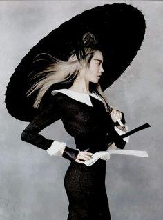 Soo Joo in 'Martial Arts' by Hyea-Won Kang for Vogue Korea, 2013 June.