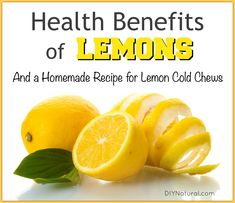 Health benefits of lemons are powerful and many. Fresh lemon contains Vitamin C plus bioflavonoids and can be used to soothe arthritis, heartburn, and more!
