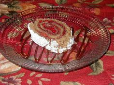 Chocolate Raspberry Roulade