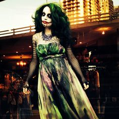 Jokers Bride, The Joker Female Makeup