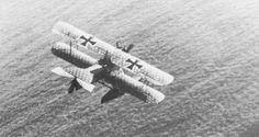 Hansa-Brandenburg W.12 Fighting Seaplane in flight