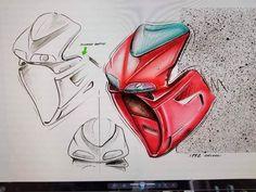 Design Sketches by Massimo Tamburini Ducati 916, Ducati Superbike, Motorbike Design, Impression 3d, Motorbikes, Vehicle, Sketches, Racing, Concept