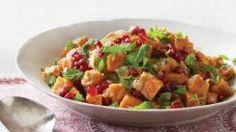 Sweet Potato and Pomegranate Tagine