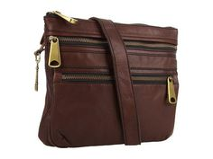 a0ae3 Fossil Handbags 41z8nIK2twL FOSSIL Explorer Crossbody Color: Espresso