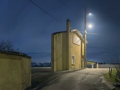 isolates building facades by Zacharie Gaudrillot-Roy