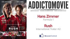 Rush - International Trailer #1 Music #1 (Hans Zimmer - Formula 1)