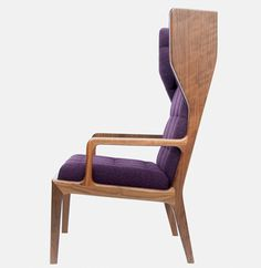 Wingback Chair by James