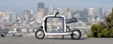 This electric cargo scooter could transform urban transportation, if the Kickstarter campaign is successful.