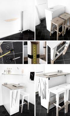 IKEA hack: Her den anden dag flashede jeg vores nye fine køkkenbar på min Instagram, og lovede et indlæg med beskrivelse. Barstolene har jeg virkelig overvejet at lave længe.
