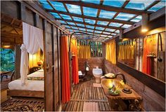 Glass-Bottomed Vacation Homes - Bambu Indah Contains Luxury Cabins in the Indonesian Hills (GALLERY)