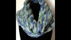bufandas tejidas a crochet - YouTube