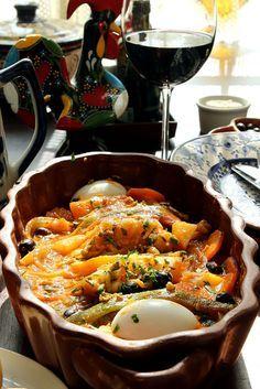 Bacalhau com grão-de-bico, batatas e cenouras. 50 receitas de bacalhau para a Páscoa: entradas, bolinhos, pratos principais e massas - Paladar - Estadao.com.br