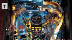 Miniature TRON Arcade Cabinet Inspired By A Pinball Machine #technology