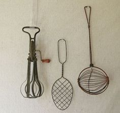 Vintage Kitchen Utensils by PassedBy