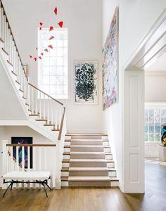 Alexander Calder Sculptures, American Flag Painting, Room Corner, Leather Bed, Paris Design, Bed Design, Architecture Details, Modern Art, Stairs