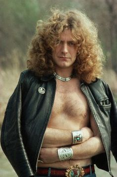 Robert Plant outside Chicago, Apr. 1977 by sy.chyck, via Flickr