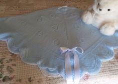 TOQUILLA PARA BEBÉ en Mis Manitas | DIY Blog de Manualidades y Reciclaje Baby Knitting Patterns, Diy, Manta Crochet, Crochet Bebe, Nursery Ideas, Blankets, Home Decor, Babies, Gifs