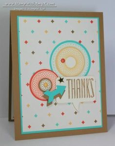 I found this on stampinup.com These are so spirograph!  I love them!!