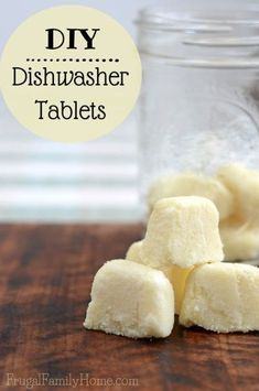 If you have a dishwasher in your kitchen, you are going to want to make these diy dishwasher tablets. These homemade dishwasher tabs only take a few minutes to make and work oh so well. Get your dishes sparkling clean for pennies with this easy to make recipe.
