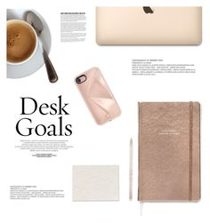 """In My Home: Desk Goals"" by katsin90 ❤ liked on Polyvore featuring interior, interiors, interior design, home, home decor, interior decorating, Kate Spade, Tiffany & Co. and Rebecca Minkoff"