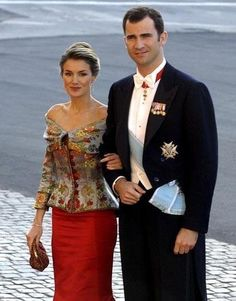 Los Príncipes de Asturias, Princess Letizia and Crown Prince Felipe of Spain