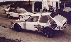 Test Lancia Rally Messina 1986