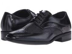 Stacy Adams Kids Maximillian (Little Kid/Big Kid) (Black) Boys Shoes