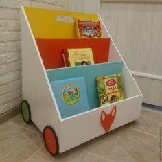 Купить Полка-Домик для детских книг и игрушек - полка для игрушек, полка для книг
