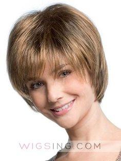 Pretty And Very Feminine Layered Short Wig