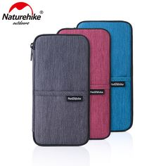 Naturehike Multi Function Outdoor Bag For Cash Passport Cards Travel Hiking Sports Travel Wallet 3Colors // FREE Worldwide Shipping! //     #hashtag1