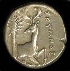 "centuriespast: "" silver coin Minted in Ephesus Greek The British Museum "" Ancient Greek Art, Ancient Greece, Ancient History, Gold And Silver Coins, Ephesus, Antique Coins, World Coins, Rare Coins, Ancient Artifacts"