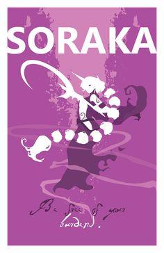 Soraka League of Legends Print by pharafax on Etsy, $14.00