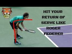 How To Hit Your Return of Serve Like Roger Federer Tennis Games, Tennis Gear, Tennis Tips, Tennis Clubs, Sport Tennis, Tennis Techniques, How To Play Tennis, Tennis Serve, Tennis Lessons