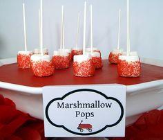 Marshmellow pops :)