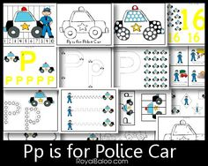 This Pp is for Police Car Pack goes with my Zoomin Moving ABCs. Scroll Down to download the Pp is for Police Car! Graphics from KPM Doodles // // // Amazon.com Widgets By downloadin...