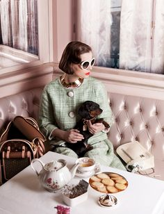 #daschund #TeaParty  #LouisVuitton