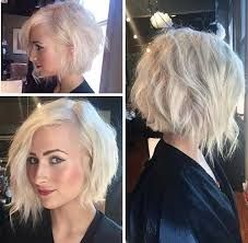 When it comes to fine hair, a shorter style is your best friend. But what is the most trendy and the best style for fine hair? Bob haircuts are the smartest choice if you have fine hair, because of… Asymmetrical Bob Haircuts, Layered Inverted Bob, Assymetrical Haircut, Medium Asymmetrical Bob, Asymmetric Hair, Blonde Inverted Bob, Wavy Angled Bob, Layered Bob Haircuts, Hair 2018