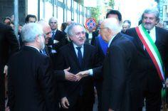 Sono le 10.50 quando inizia la giornata a Bari di Giorgio Napolitano http://tuttacronaca.wordpress.com/2013/10/29/il-presidente-stanco-fosse-per-me-gli-darei-sette-giorni/