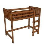 This step by step diy project is about full size platform bed frame plans. If you want to build a learn more about building a full size platform bed with a nice design, pay attention to this project. Platform Bed Plans, Queen Size Platform Bed, Platform Bed Frame, Build A Loft Bed, Loft Bed Plans, Loft Furniture, Furniture Outlet, Furniture Ideas, Furniture Design