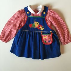 SOLD Vintage Back to School Dress for Toddler for sale here https://www.etsy.com/listing/460814074/vintage-baby-togs-toddler-girl-blue?ref=shop_home_active_39 #vintage #babyvintageclothes #vintagebabyclothes #baby #babyclothesforsale #vintagebaby #vintagestyle #vintagebabystyle #babystyle #babyclothes #estyshop #estyvintage #etsyvintageshop