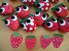 strawberries by mypapercrane, via Flickr