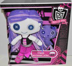 Spectra Vondergeist: Plush Dolly Mattel Monster High doll