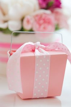 Pretty pink packaging ~ Ana Rosa