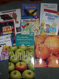 A big list of our favorite fall and halloween books for kids. Tons of really great memorable book ideas on this list.