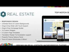WP Pro Real Estate 3 Responsive WordPress Theme + Free Download